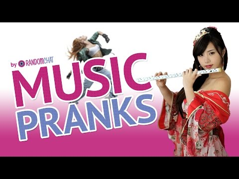 Chat room prank music collection