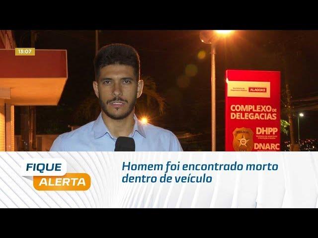 Homem foi encontrado morto dentro de veículo na Cidade Universitária