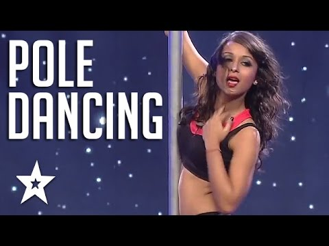 Incredible Pole Dancer On India's Got Talent | Got Talent Global