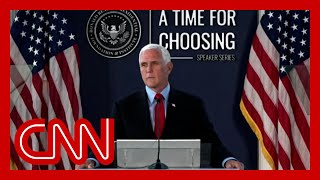 Hear Mike Pence call attempt to decertify election 'un-American'