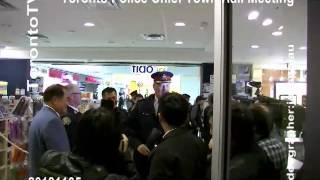 20131105, Toronto Police Chief, William Blair, meet Chinese community, Toronto, Canada, 加拿大, 多倫多警察總長