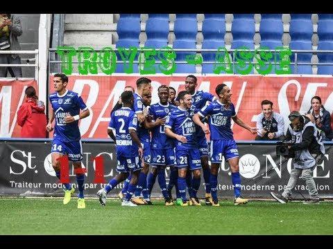 Estac Troyes - AS Saint-Etienne 1-1 (4 TAB 3) Le résumé