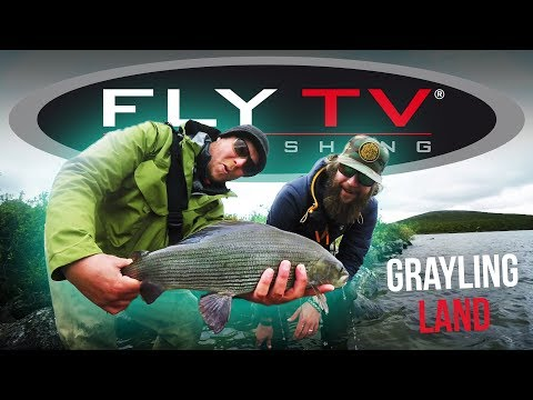 FLY TV - Grayling Land (Fly Fishing For Big Grayling)