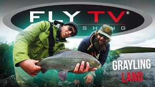 FLY TV  Grayling Land (Fly Fishing for Big Grayling)