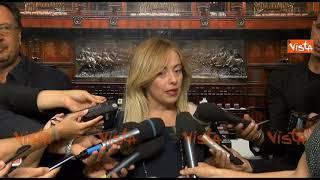 Milleproroghe, Giorgia Meloni: