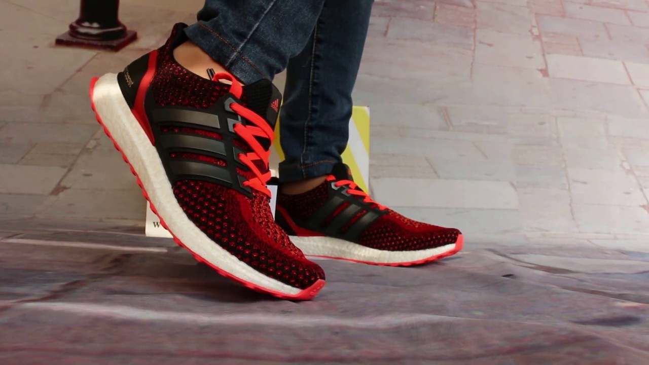 cd565ced3201b On Foot Show of Adidas Ultra Boost AQ5930 - YouTube