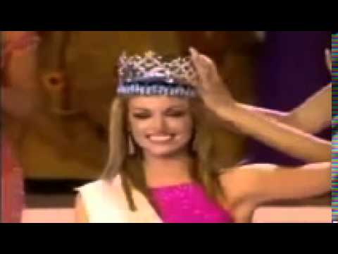 Rosanna davison is crowned miss world in 2003 youtube rosanna davison is crowned miss world in 2003 thecheapjerseys Images