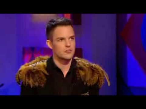 Brandon Flowers from The Killers interview on Jonathan Ross