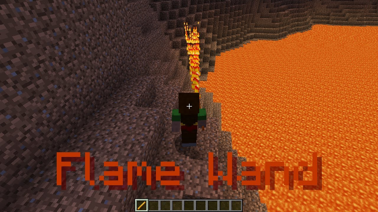 how to get flame enchantment in minecraft