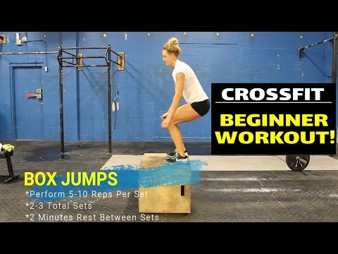 CrossFit Workout for Beginners using Bodyweight Exercises