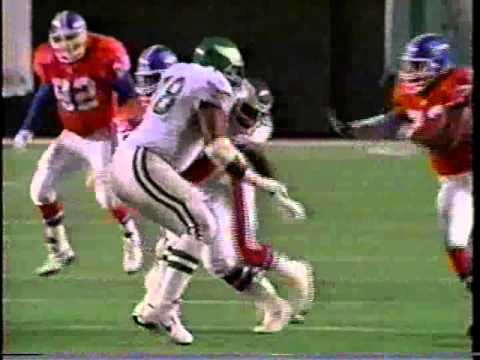 1995 Week 10 Eagles vs Denver clip1