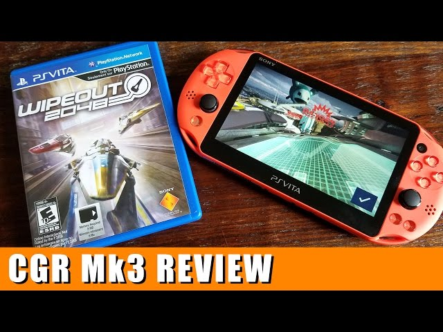 Classic Game Room - WIPEOUT 2048 review for Vita