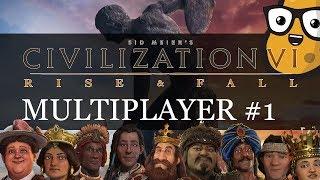 Mapuche/Brazil/Sumeria Multiplayer Civ Game with Viewers! + Civ 6 Deity Lessons