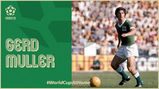 Gerd Muller's 1970 FIFA World Cup Goals