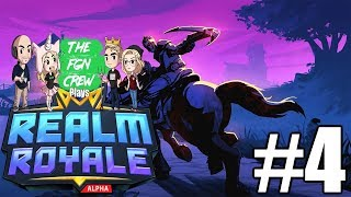 DOUBLE JUMPED! | REALM ROYALE GAMEPLAY #4