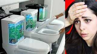 Most Unbelievable BATHROOMS Ever !