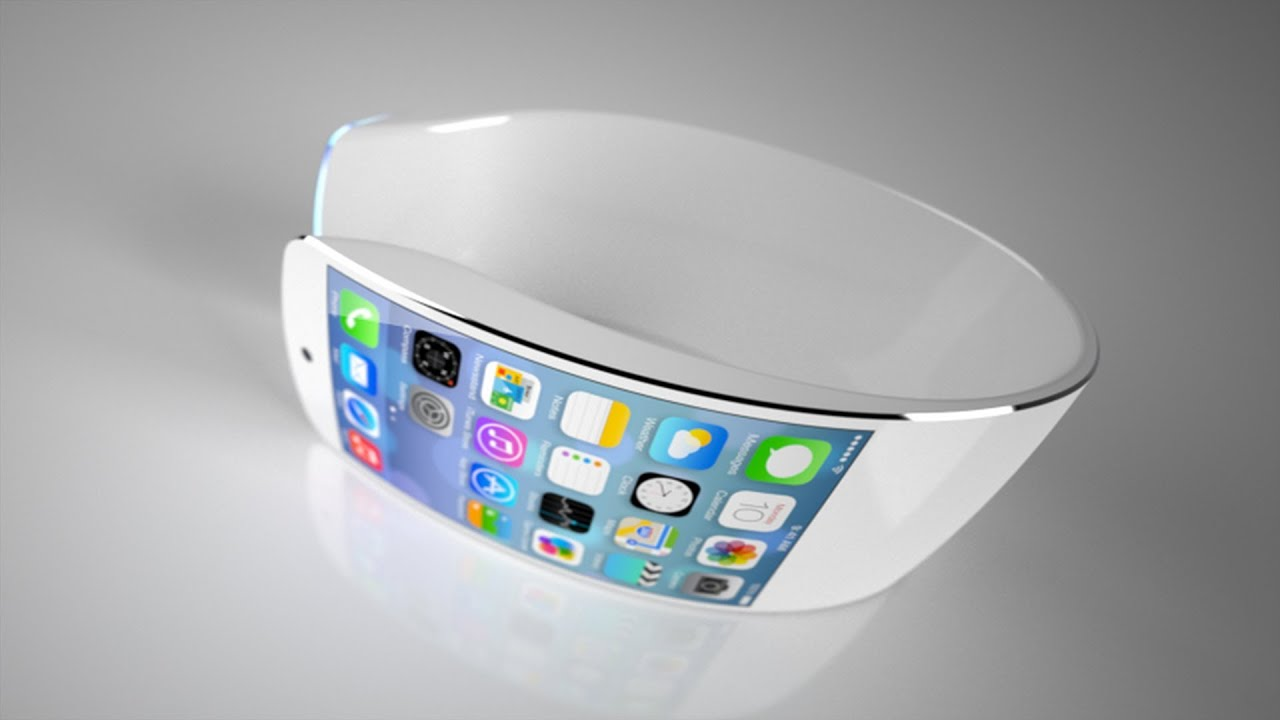 New Apple iWatch iOS 7 Flexible Display 2013 Concept