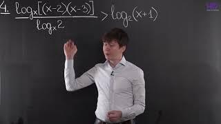 Алгебра, 10 класс | Логарифмические неравенства. Часть 1