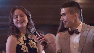 Ведущий Дима Адаев на свадьбе. Свадьба 2016.
