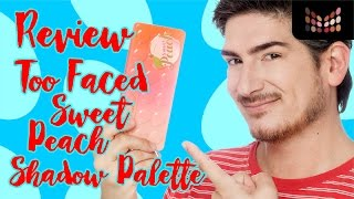 Review -  Too Faced Sweet Peach Palette