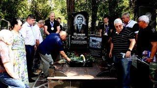 В Запорожье открыли монумент олимпийскому чемпиону Якову  Пункину