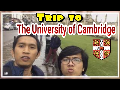 Trip to The University of Cambridge