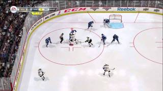 NHL 12 Demo Gameplay: Boston Bruins vs. Vancouver Canucks (Xbox 360) 3rd Period