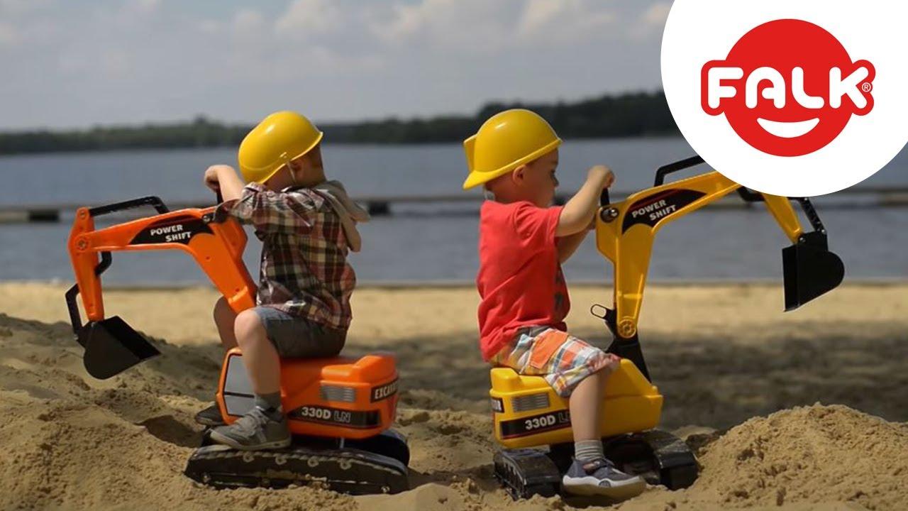 pelleteuse enfant excavator avec bras articul 233 falk