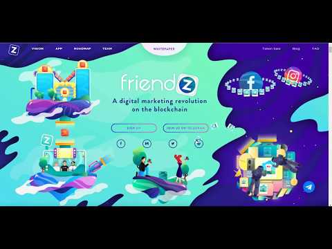Friendz ICO Review - Digital Marketing Revolution on Blockchain