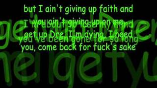 Dr. Dre- I Need a Doctor Lyrics feat. Eminem & Skylar Grey