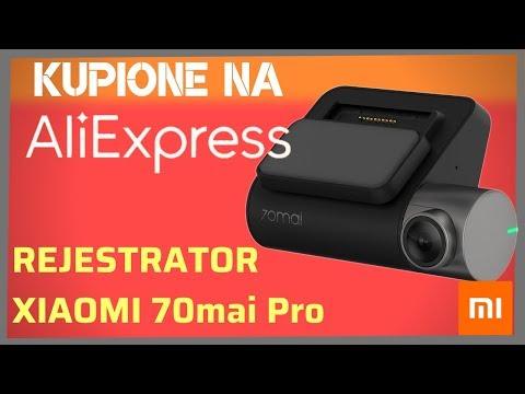 Moja Najlepsza Kamera Samochodowa Do 200 - 300 Zł - XIAOMI 70mai Pro GPS Z Aliexpress - Test