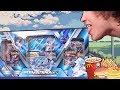 E A T I N G Opening A Big Blue Premium Pokemon Box mp3