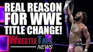 Real Reason For WWE Title Change! Audience Leaves At New WWE Show! | WrestleTalk News