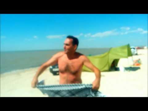 отдых на азовском море,отзывы отдыхающих.ч. 2(на косе)