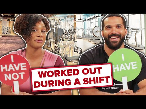 Gym Employees Play Never Have I Ever