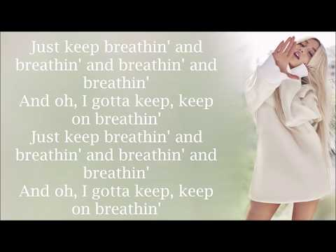 Ariana Grande ~ breathin ~
