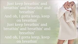Ariana Grande ~ breathin ~ Lyrics