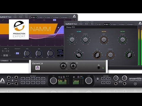 Demo Of Apogee DualPath Effects Rack At NAMM 2018