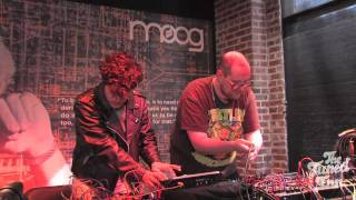 Neon Indian & Dan Deacon: Interview & Performance (Moogfest 2011)