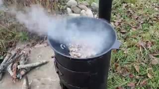 як зробити пічку під казан
