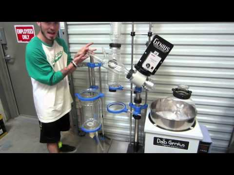 Cannabis Alcohol Extraction Machine