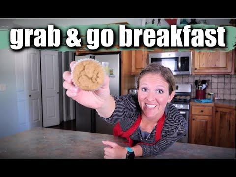 Make Ahead Easy Grab and Go Breakfasts