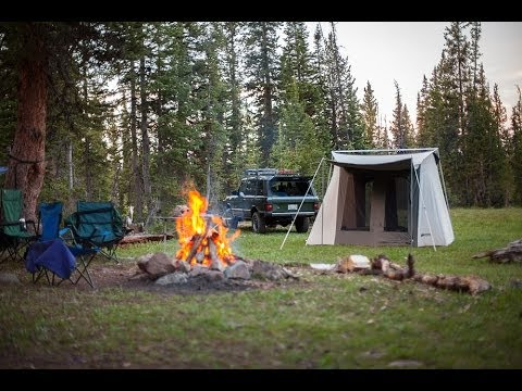 Kodiak Canvas Flex Bow Tent Gear Basics Youtube