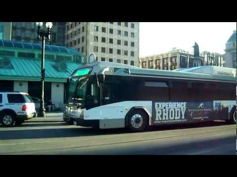 Buses in Providence, Rhode Island - RIPTA (Downtown)
