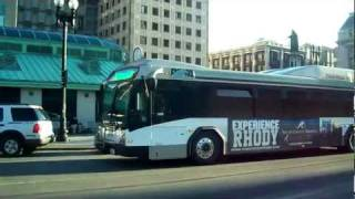 Gambar cover Buses in Providence, Rhode Island - RIPTA (Downtown)