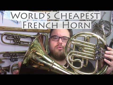 The World's Cheapest French Horn