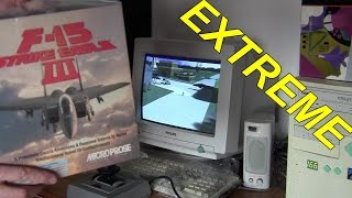 MARCO PLAYS : F15 STRIKE EAGLE III (Microprose - 1992) [PC-DOS]