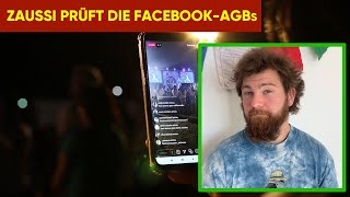 Zaussi prüft Digitalisierung: Die Facebook AGBs