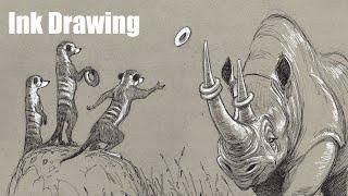 Drawing - More pen drawing!
