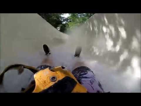 Waterslide at Xplor